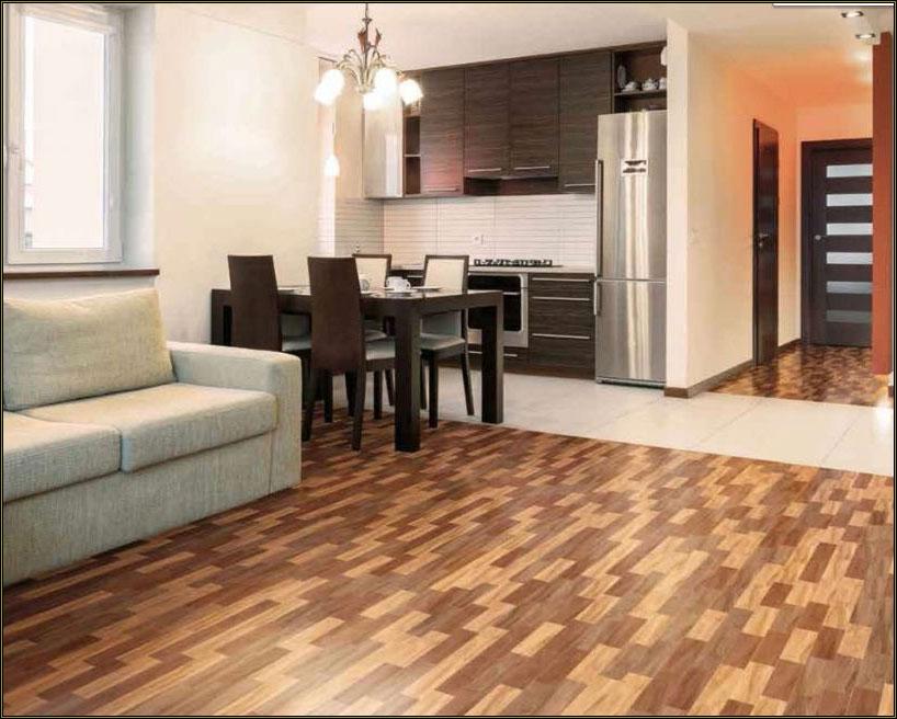 Плитка на пол для кухни и коридора
